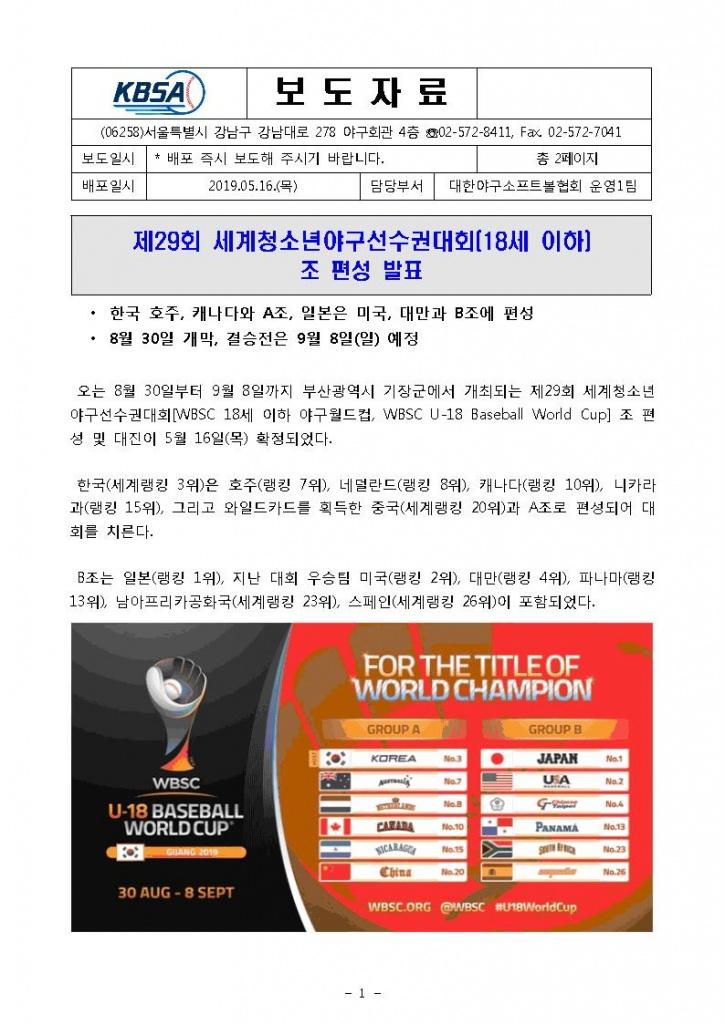 (보도자료)제29회 세계청소년야구선수권대회_18세이하_조편성발표_1.jpg
