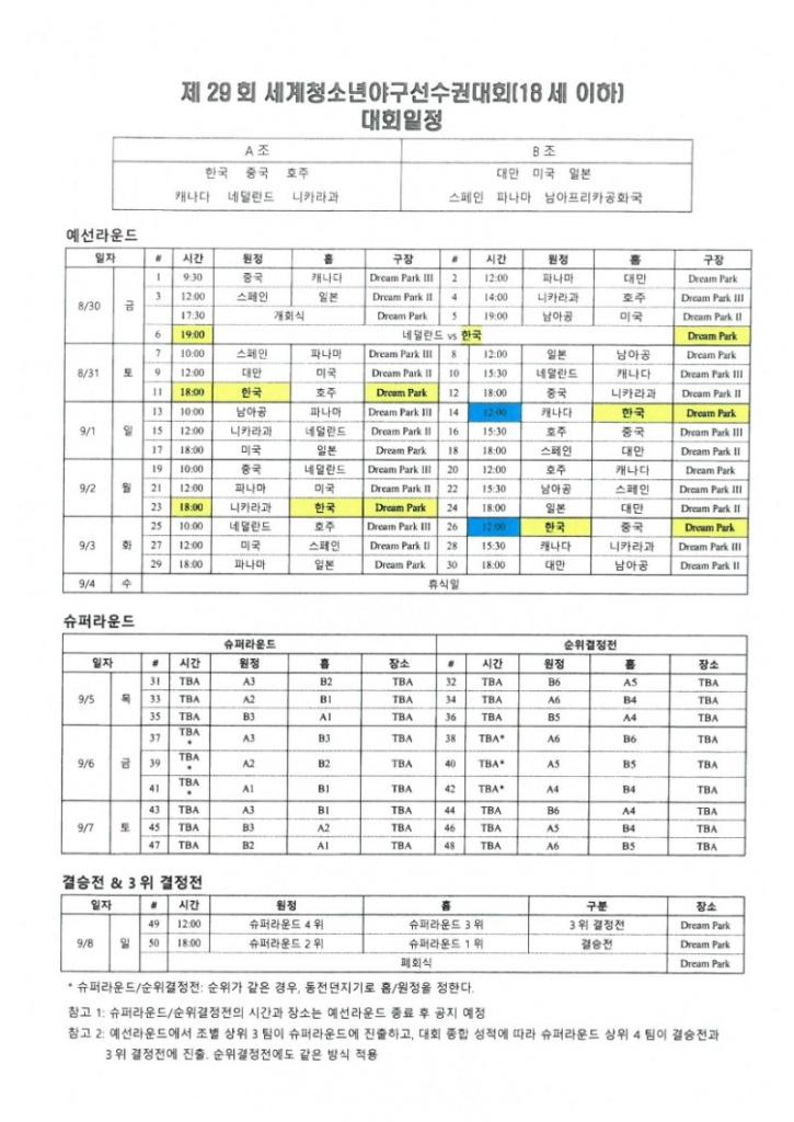 [대회일정] 제29회 세계청소년야구선수권대회.jpg